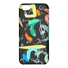 Repetition Seamless Child Sketch Apple Iphone 5c Hardshell Case