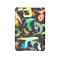 Repetition Seamless Child Sketch Ipad Mini 2 Hardshell Cases