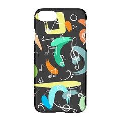 Repetition Seamless Child Sketch Apple Iphone 7 Hardshell Case by Nexatart