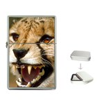 Cheetah Flip Top Lighter