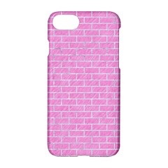 Brick1 White Marble & Pink Colored Pencilbrick1 White Marble & Pink Colored Pencil Apple Iphone 7 Hardshell Case by trendistuff