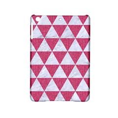 Triangle3 White Marble & Pink Denim Ipad Mini 2 Hardshell Cases