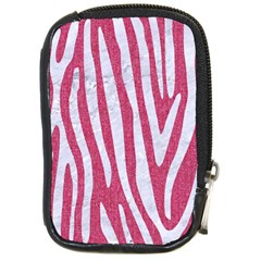 Skin4 White Marble & Pink Denim (r) Compact Camera Cases by trendistuff