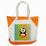 Tux Linux Hacker custom Accent Tote Bag