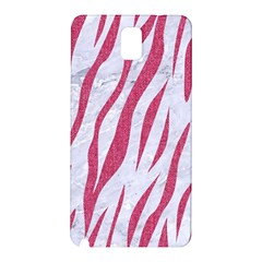Skin3 White Marble & Pink Denim (r) Samsung Galaxy Note 3 N9005 Hardshell Back Case