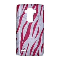 Skin3 White Marble & Pink Denim (r) Lg G4 Hardshell Case