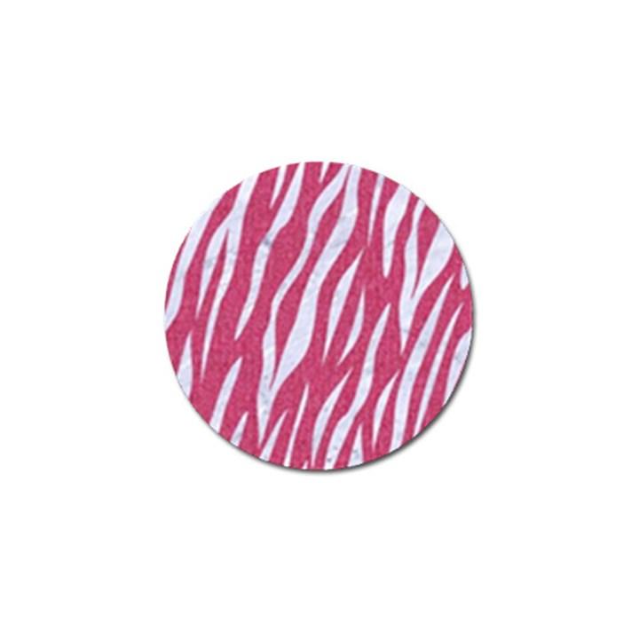 SKIN3 WHITE MARBLE & PINK DENIM Golf Ball Marker (10 pack)