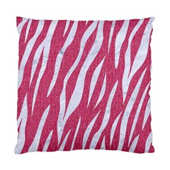 Skin3 White Marble & Pink Denim Standard Cushion Case (one Side) by trendistuff