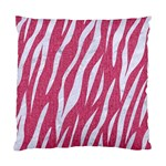 SKIN3 WHITE MARBLE & PINK DENIM Standard Cushion Case (Two Sides) Front