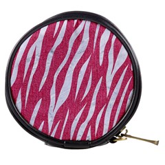 Skin3 White Marble & Pink Denim Mini Makeup Bags by trendistuff