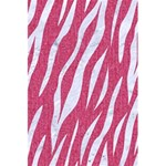 SKIN3 WHITE MARBLE & PINK DENIM 5.5  x 8.5  Notebooks Back Cover