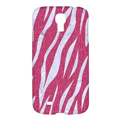 SKIN3 WHITE MARBLE & PINK DENIM Samsung Galaxy S4 I9500/I9505 Hardshell Case