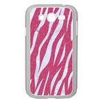 SKIN3 WHITE MARBLE & PINK DENIM Samsung Galaxy Grand DUOS I9082 Case (White) Front
