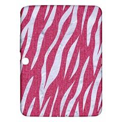 SKIN3 WHITE MARBLE & PINK DENIM Samsung Galaxy Tab 3 (10.1 ) P5200 Hardshell Case