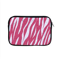 Skin3 White Marble & Pink Denim Apple Macbook Pro 15  Zipper Case by trendistuff