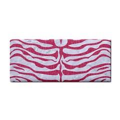 SKIN2 WHITE MARBLE & PINK DENIM (R) Hand Towel