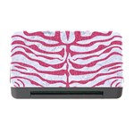 SKIN2 WHITE MARBLE & PINK DENIM (R) Memory Card Reader with CF Front