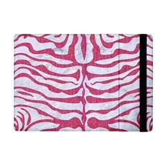 SKIN2 WHITE MARBLE & PINK DENIM (R) Apple iPad Mini Flip Case
