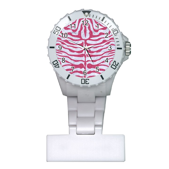 SKIN2 WHITE MARBLE & PINK DENIM (R) Plastic Nurses Watch