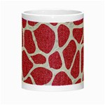 SKIN1 WHITE MARBLE & PINK DENIM (R) Night Luminous Mugs Center