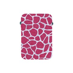 SKIN1 WHITE MARBLE & PINK DENIM (R) Apple iPad Mini Protective Soft Cases