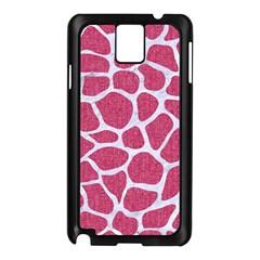 Skin1 White Marble & Pink Denim (r) Samsung Galaxy Note 3 N9005 Case (black) by trendistuff