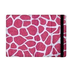 Skin1 White Marble & Pink Denim (r) Ipad Mini 2 Flip Cases