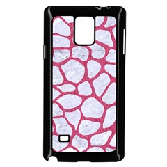 Skin1 White Marble & Pink Denim Samsung Galaxy Note 4 Case (black)