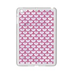 SCALES3 WHITE MARBLE & PINK DENIM (R) iPad Mini 2 Enamel Coated Cases Front