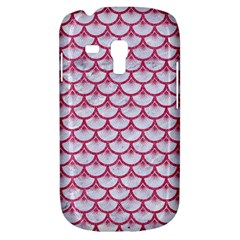 Scales3 White Marble & Pink Denim (r) Galaxy S3 Mini