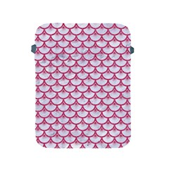 Scales3 White Marble & Pink Denim (r) Apple Ipad 2/3/4 Protective Soft Cases