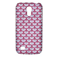 Scales3 White Marble & Pink Denim (r) Galaxy S4 Mini