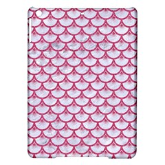 Scales3 White Marble & Pink Denim (r) Ipad Air Hardshell Cases