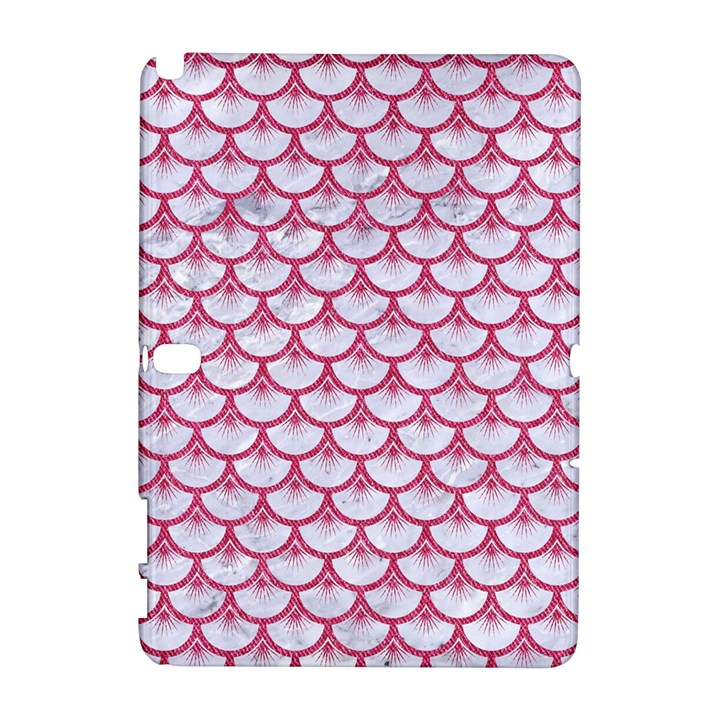 SCALES3 WHITE MARBLE & PINK DENIM (R) Galaxy Note 1