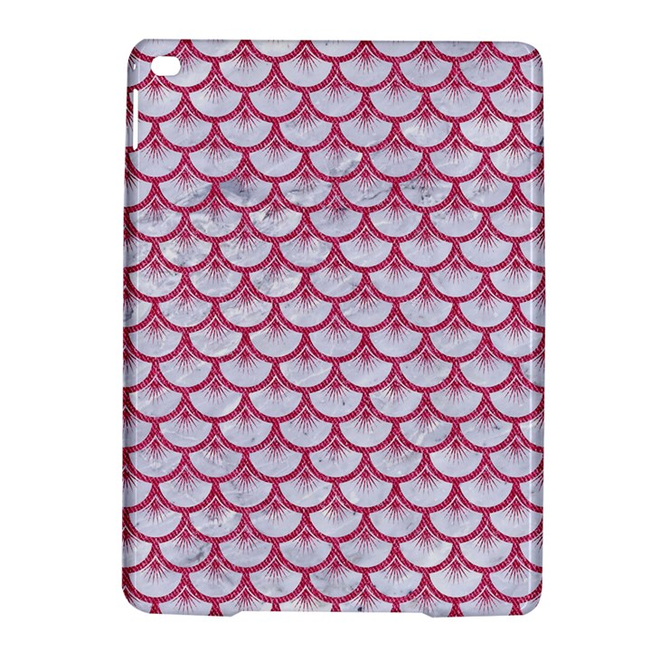 SCALES3 WHITE MARBLE & PINK DENIM (R) iPad Air 2 Hardshell Cases