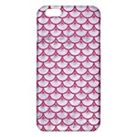 SCALES3 WHITE MARBLE & PINK DENIM (R) iPhone 6 Plus/6S Plus TPU Case Front