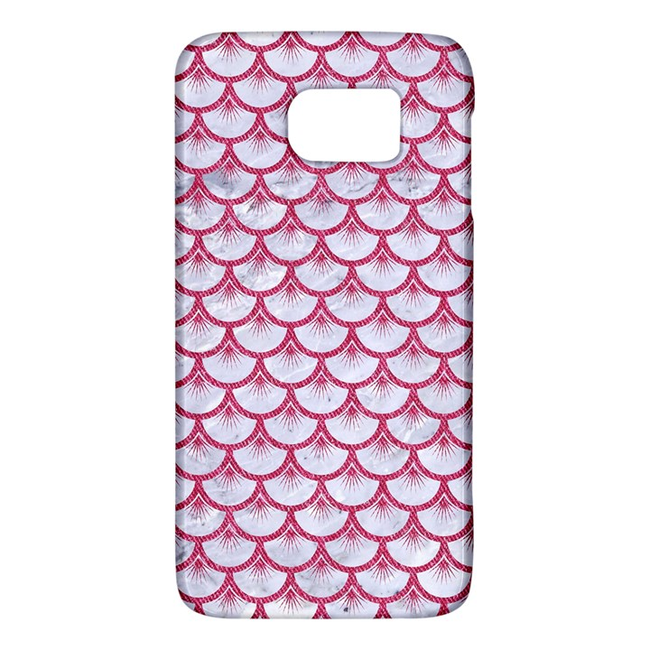 SCALES3 WHITE MARBLE & PINK DENIM (R) Galaxy S6