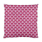 SCALES3 WHITE MARBLE & PINK DENIM Standard Cushion Case (One Side) Front