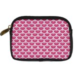 SCALES3 WHITE MARBLE & PINK DENIM Digital Camera Cases Front