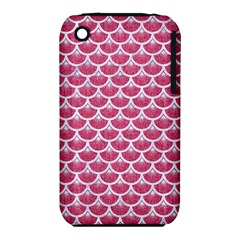 Scales3 White Marble & Pink Denim Iphone 3s/3gs