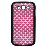 SCALES3 WHITE MARBLE & PINK DENIM Samsung Galaxy Grand DUOS I9082 Case (Black) Front