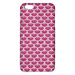 SCALES3 WHITE MARBLE & PINK DENIM iPhone 6 Plus/6S Plus TPU Case Front