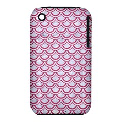 Scales2 White Marble & Pink Denim (r) Iphone 3s/3gs