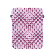 Scales2 White Marble & Pink Denim (r) Apple Ipad 2/3/4 Protective Soft Cases