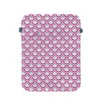 SCALES2 WHITE MARBLE & PINK DENIM (R) Apple iPad 2/3/4 Protective Soft Cases Front