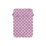 SCALES2 WHITE MARBLE & PINK DENIM (R) Apple iPad Mini Protective Soft Cases Front