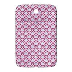 Scales2 White Marble & Pink Denim (r) Samsung Galaxy Note 8 0 N5100 Hardshell Case  by trendistuff