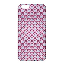 Scales2 White Marble & Pink Denim (r) Apple Iphone 6 Plus/6s Plus Hardshell Case by trendistuff