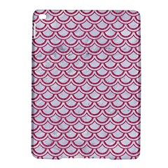 Scales2 White Marble & Pink Denim (r) Ipad Air 2 Hardshell Cases