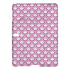 Scales2 White Marble & Pink Denim (r) Samsung Galaxy Tab S (10 5 ) Hardshell Case
